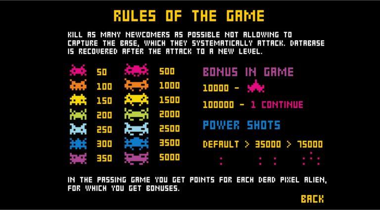 PIXEL BOTS rules